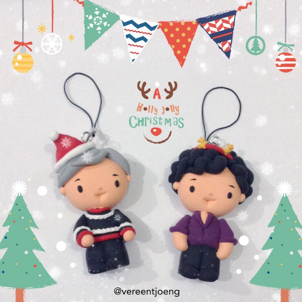 Decorate your Christmas Tree with clays!!!   Cumberclay